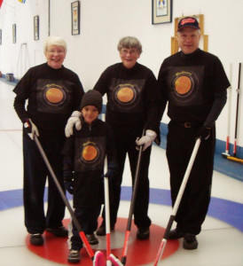 Kurling for Kids Cochrane Family1 2014